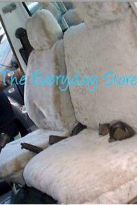 Image Is Loading Sheepskin Car Seat Covers Toyota Landcruiser 60 70