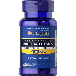 Melatonin-10-mg-60-capsules-Puritans-Pride-fast-delivery-to-European-countries