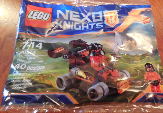 LEGO 30374 Nexo Knights The Lava Slinger 40pcs for sale online