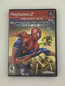 Spider-Man: Friend or Foe (Greatest Hits) - Playstation 2 PS2 Game - Complete