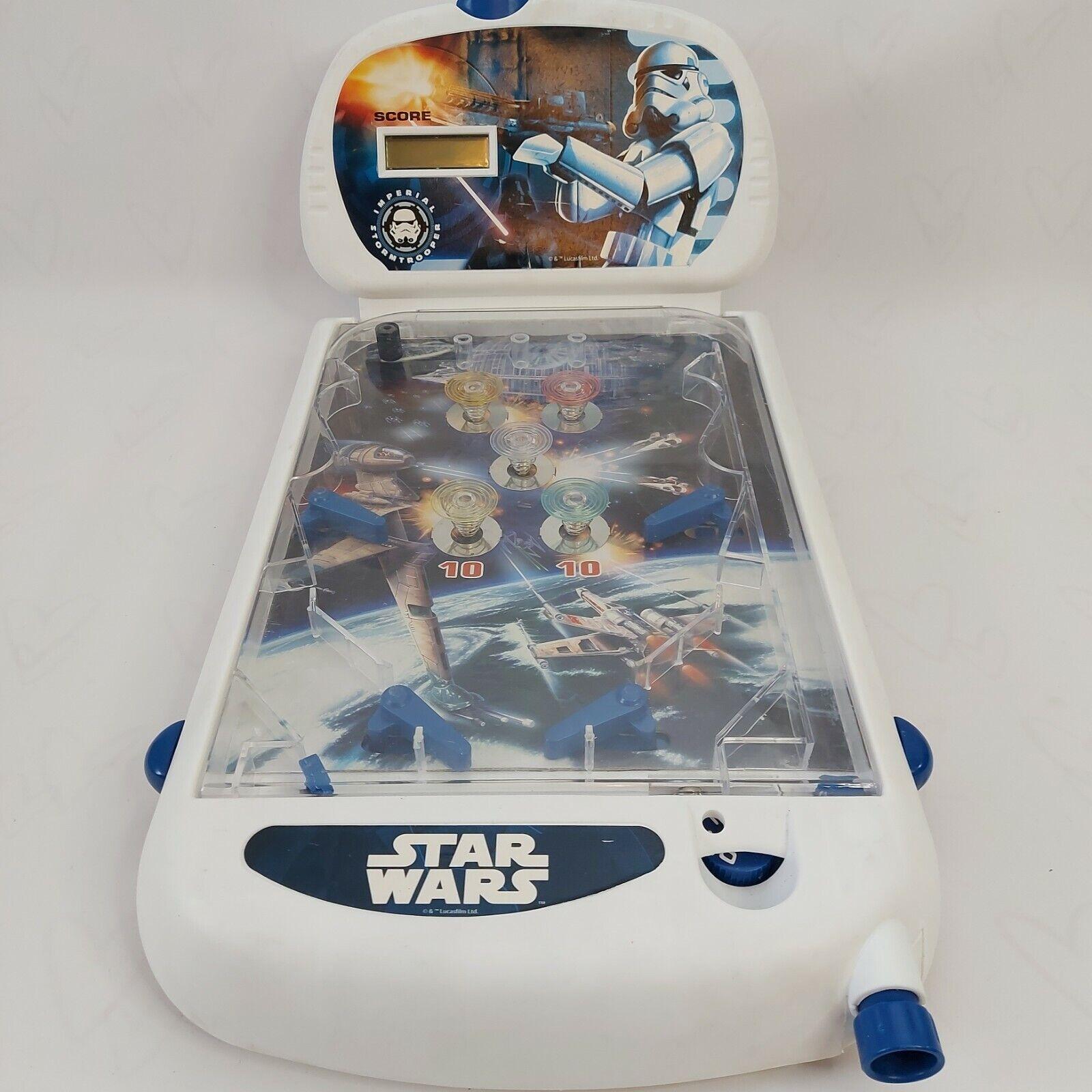 Star Wars Table Top Mini Pinball Machine Fun Toys Lucas Film Ltd Working
