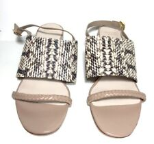 856fa9b7489a  248 cole Haan Women s Lise Roccia Snake Print Wedge Heel Sandals Size ...