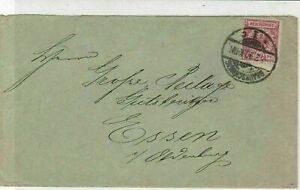 Germany 1890 Stamps Cover to Essen Oldenburg Braunschweig Cancel Ref 23264