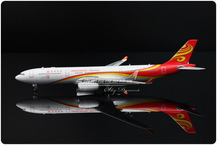 2018 Phoenix Hong Kong Airlines Airbus A330-300 Modelo Diecast avión de pasajeros