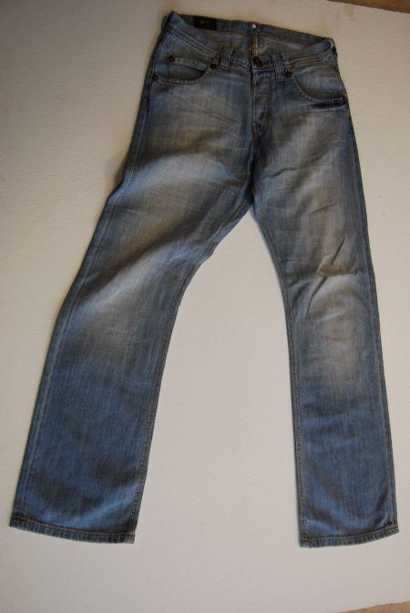 Lee Lee Lee Roscoe Jeans Hose Hellblau Stonewashed  W30 L32  | Lebensecht  f34b45