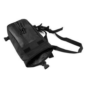 Carbon-Fiber-Black-Motorcycle-Waist-Leg-Shoulder-Bag-Waterproof-Cycling-Pack-Bag