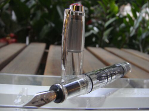 M TWSBI DIAMOND 580 Mini Demo Fountain Pen 〝SEALED〞3 nibS Size: choose EF F