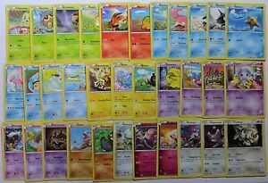 Complete 16 Rare Pokemon Cards Bundle XY BREAKPOINT
