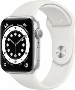 🔥2021 Apple Watch Series 6 GPS Gray/Silver/Gold 40/44mm Blue/Pink/Red SportBand
