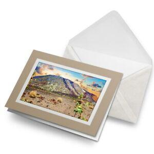 Greetings-Card-Biege-Teide-Volcano-Tenerife-Canary-Islands-16503