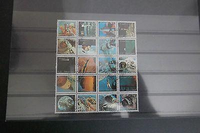 Kleinbogen Briefmarken Umm Al Quwain (teilemirat Vae) Gestempelt Fabriken Und Minen