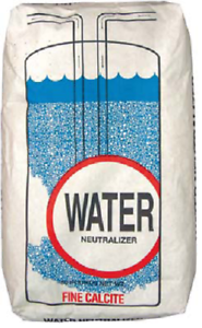 Calcite filter media ph correction acid neutralizer tanks 0.5 cubic feet media