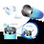 miniature 69 - Stainless Steel Tumbler Vacuum Insulated Mug Splash Proof Lid 20oz Coffee Cup