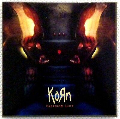 Perseverando Korn Fridge Magnet Calamita Paradigm Shift Official Merchandise Firm In Structure