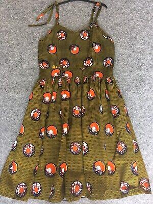 Donna Cotone Stampa Africana Abito, Ankara, Kitenge Casual Estate Wear-mostra Il Titolo Originale