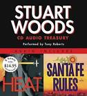 Stuart Woods Audio Treasury: Santa Fe Rules and Heat by Stuart Woods (CD-Audio)