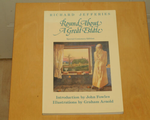 1 of 1 - Round About a Great Estate, Jefferies, Richard Paperback Book The Cheap Fast