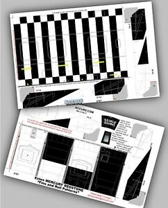 Accur8-Super-Detail-034-Roll-Patterns-034-for-Estes-Mercury-Redstone-Model-Rocket