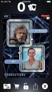 Topps Star Wars Digital Card Trader Anakin//Luke Connections Insert
