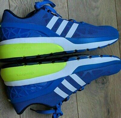 Adidas Para Hombre Neo Cloudfoam Flujo Azul/Blanco/Amarillo ...