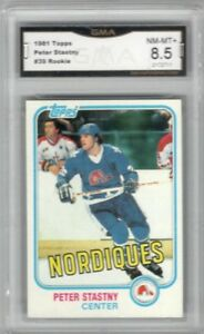 1981-82-Topps-39-Peter-Stastny-RC-Graded-NM-MT-Quebec-nordiques