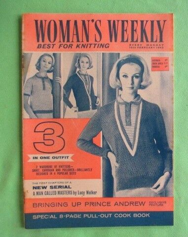 Women's Weekly magazine - 16 February 1963