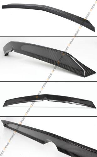 FOR 10-16 MERCEDES BENZ W212 E63 AMG SEDAN HIGH KICK CARBON FIBER TRUNK SPOILER
