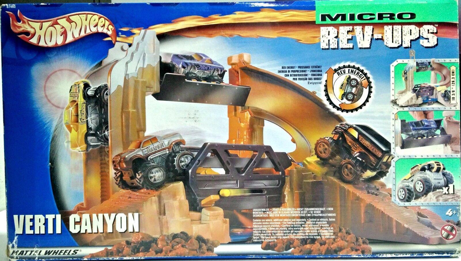 Hot Wheels - Grüni Canyon Micro REV-UPS - NUEVO