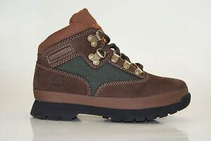 Timberland-Euro-Hiker-Boots-Outdoor-Schnuerstiefel-Kinder-Winterstiefel-A125C