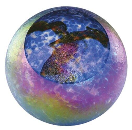 Glass Eye Studio celestial series PaperWeißht Supernova 492F - Brand New