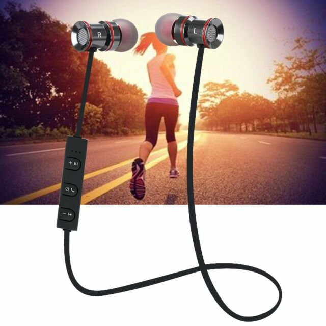 Hi Fi Super Bass Bluetooth Stereo Headphone Earbud Earphone for iPhone 6S 7 Plus