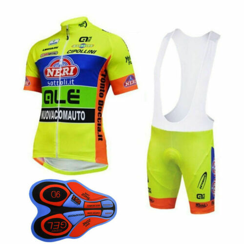 2019 New Men Cycling Short Sleeve Clothing Bicycle Jersey MTB Bib Shorts 9D Sets