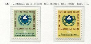 19050-UNITED-NATIONS-New-York-1963-MNH-Nuovi-Science