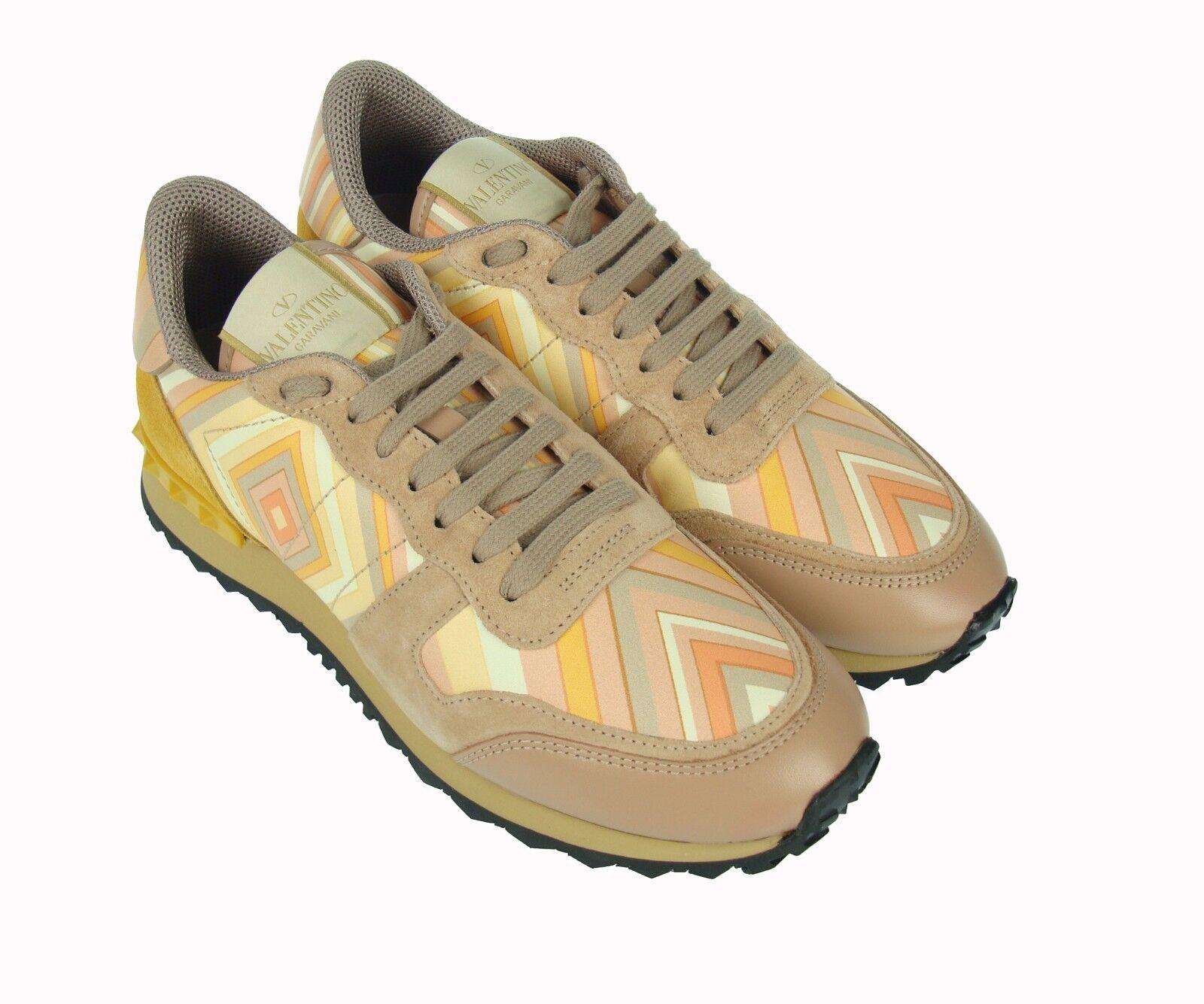 Valentino Garavani    750 Zapatos Tenis de Moda de Mujer Mujer 女鞋 100% Aut.  almacén al por mayor