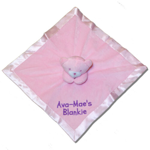 Personalised Comforter  Baby Shower New Baby Boy Girl Christening Gift
