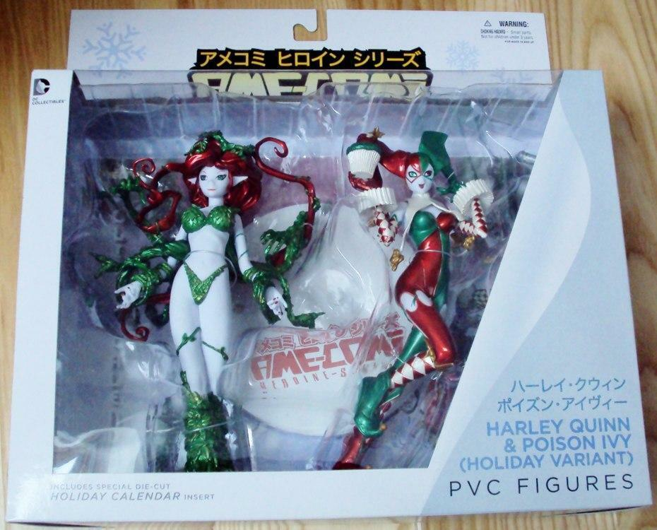 AME COMI Harley Quinn Poison Ivy Vacanza VARIANTE Action Figure Set DC COMICS