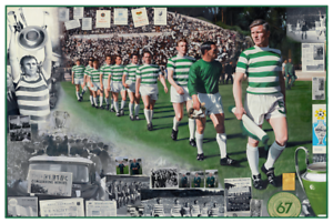 Gerard Burns Glittering Prize Poster Print - With Additional Donation