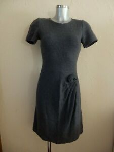 Issa London - Robe - 100% Laine Grise - Taille us 4 / uk 8 / 36fr - Authentique