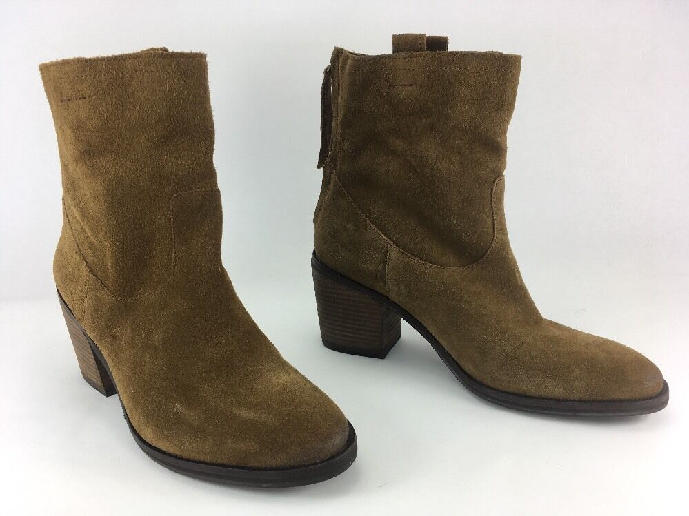 Sam Edelman FARRELL Womens US 7M brown suede Outfitters Zip-Up Ankle Boots Urban Outfitters suede 2acd41