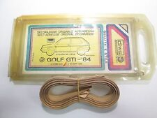 Serie adesivi fiancate originali 3M Vw Golf GTI dal 1984   [2663.17]