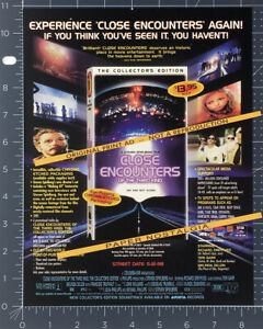 CLOSE ENCOUNTERS OF THE THIRD KIND__Orig. 1998 Trade print AD / ADVERT_Spielberg