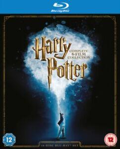 Harry Potter Complete 8 Film Box Set 2016 Edition BLU-RAY- REGION FREE *NEW*
