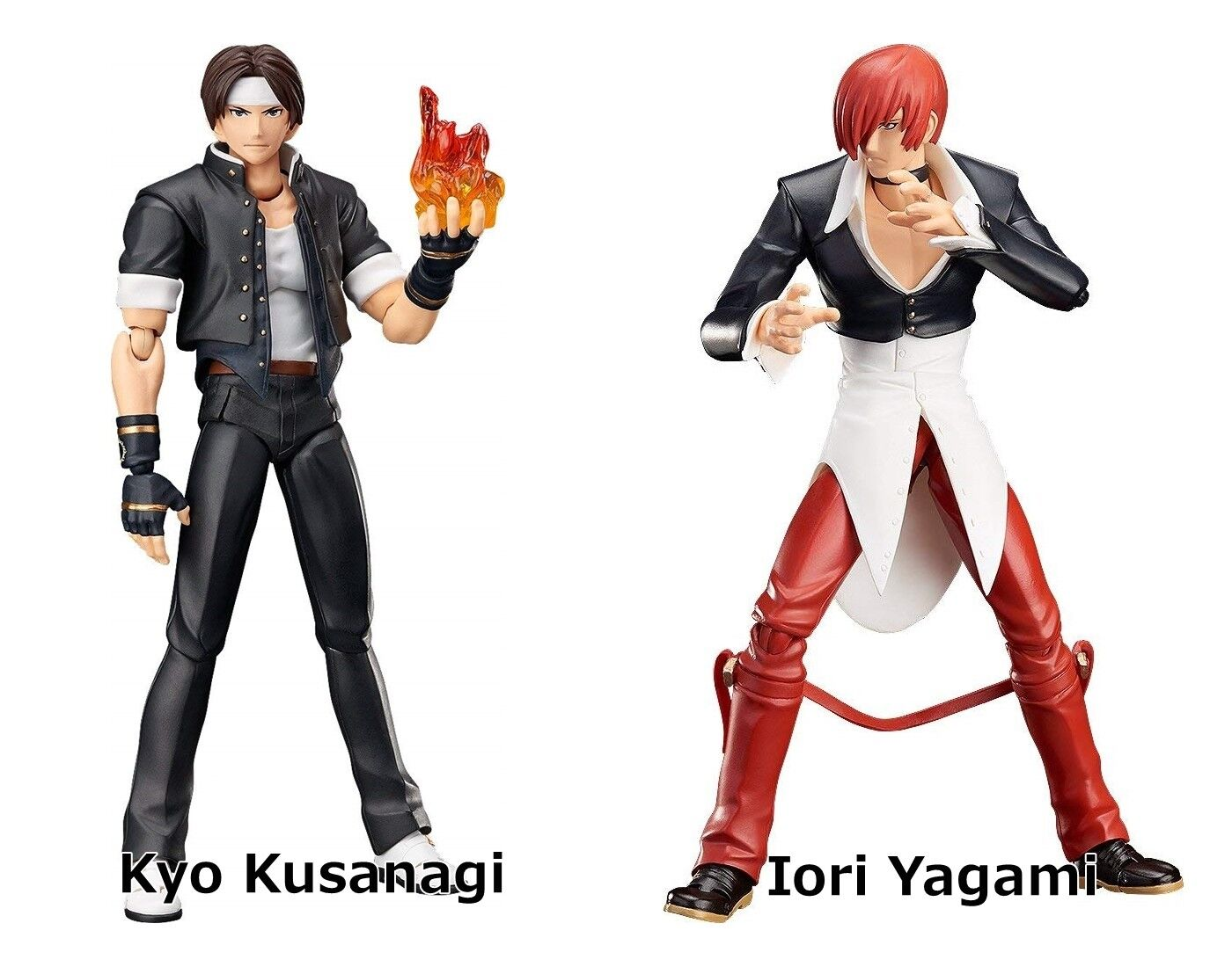 Figma Kyo Kusanagi Iori Yagami juego de lucha The King of Fighters Figura De Acción