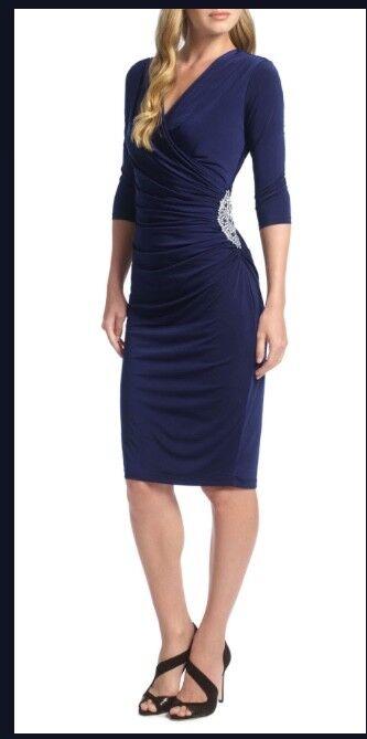 Ariella of London Rhoda short wrap dress size 10, New with Tags