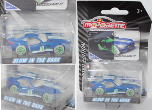 Majorette 212054014 Mercedes-AMG GT, glow in the dark, LIMITED EDITION Serie 4