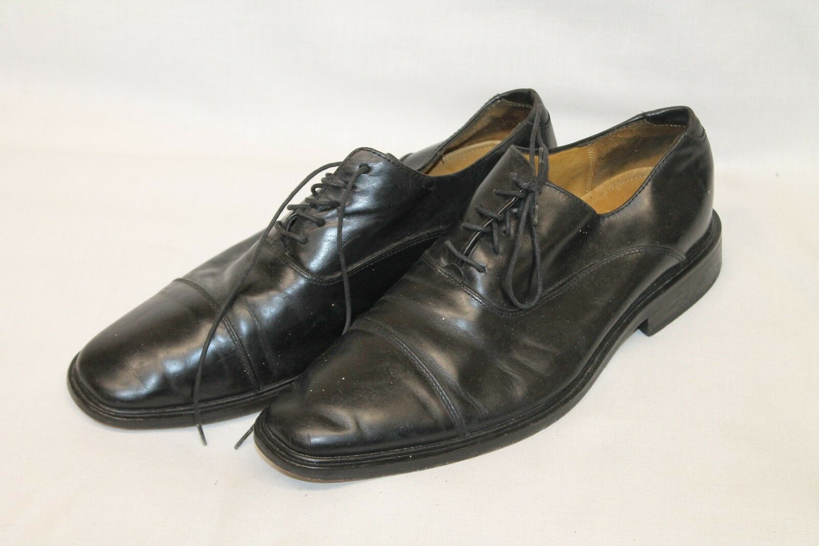 Men's 9 M Cole Haan Brown Leather Oxfords Lace Up 5042176 547576
