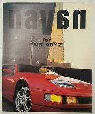 c1991 Nissan. Navan for Fairlady Z original sales brochure