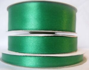 16mm Berisfords Emerald Green Grosgrain Ribbon 20m Reel