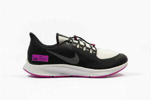 new concept fa795 27130 Details about Nike Running Air Zoom Pegasus 35 Shield NRG BQ9779-001  Black/Reflect Silver n1