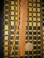 One 1/4 X 72 Indian Brown Leather Saddle String Lace Strap